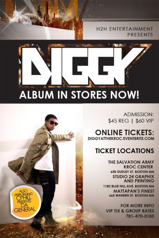 Diggy Simmons at the Kroc Center