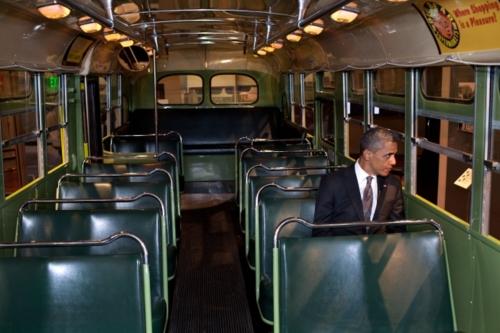 Barack on the Bus
