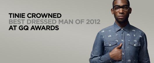 GQ Best Dress Man of 2012: Tinie Tempah