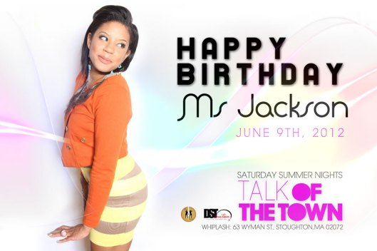 Happy Birthday Ms. Jackson