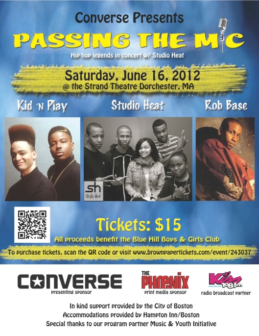 Pass the Mic, Boys and Girls Club Dorchester