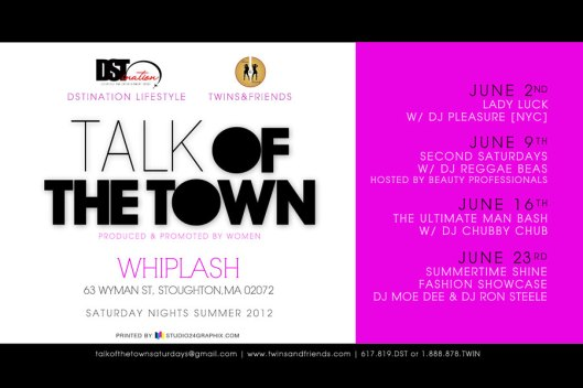 Talk of the Town Saturday Nights