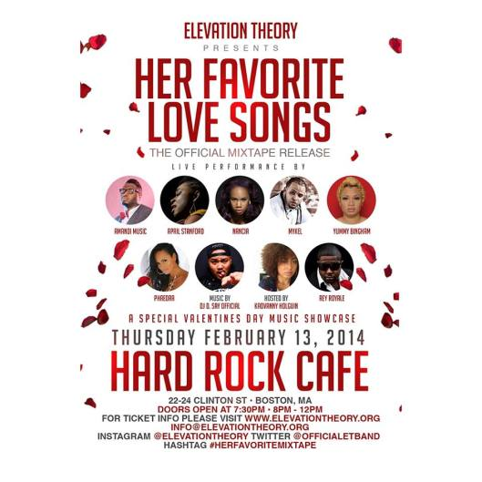 Elevation Theory: Her Favorite Love Songs